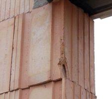 Brique décalée baie vitrée Sud