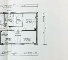 Plan de maison - Etage 1