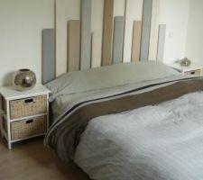 Tête de lit faite maison avec 3 fois rien