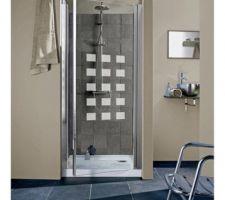 Porte de douche choisie