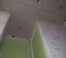 Faux plafond Entrée
