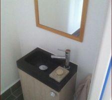 WC RDC avec lave main