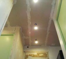 Plafond Entrée vue depuis le séjour