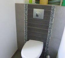 salle de bains galets