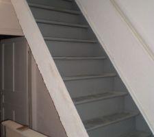 escalier sous un autre angle