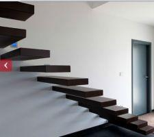 notre futur escalier
