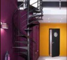 escalier commande surelevation de la maison de 8 cm pour pourvoir mettre l escalier sans effectuer de raccord dalle au sol