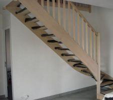 escalier en mode livraison