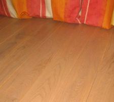 parquet massif pose sur plancher chauffant