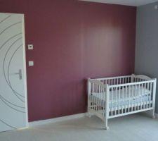 Voilà le lit du futur bébé,maintenant les jours sont comptés