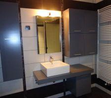 meuble vasque salle de bain avec les portes au 09 06