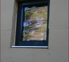 Fenêtre de la salle de bain vue extérieure