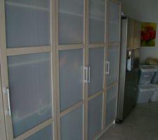 Installation du frigo ameriquain