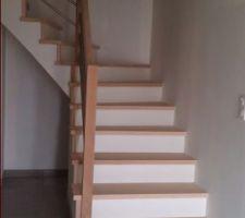 escalier beton termine