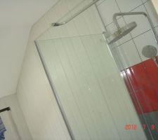 Lambris pvc salle de bains des enfants