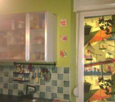 Nouvelle modification , crepit peint au mur réarangement piece   cornixhe lumineuse   voute crée