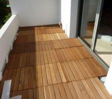 terrasse balcon affleurant seuil de porte