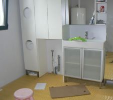 meubles de la salle de bain montes