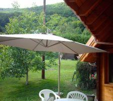 Installation parasol