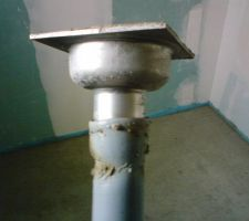 Raccord siphon douche