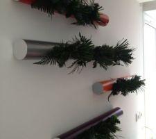 tubes metalliques de plantes stabilisees flowerbox