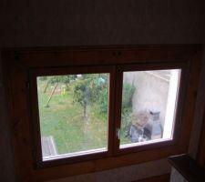 Changement de la double fenetre en double vitrage bois