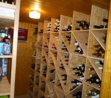 Cave à vins climatisée de papy