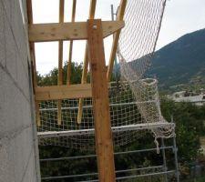 Côté gauche du balcon