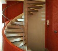 exemple de finition pour notre escalier