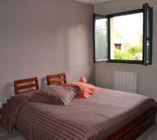 Notre chambre, assez sommaire pour le moment !