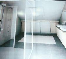Salle de bain du haut (autre vue)