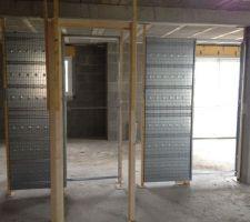juin 2012 pose des menuiseries interieures portes coulissantes eclisse