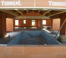 Salle piscine couverte