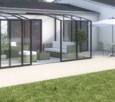Projet abri terrasse pour le printemps
