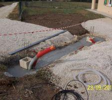 construction des piliers