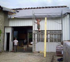 transformation d un garage auto en loft