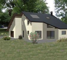 1er image de notre future maison que du bonheur