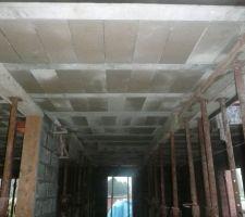 Préparation de l'étage