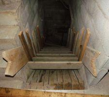 Escallier de la cave