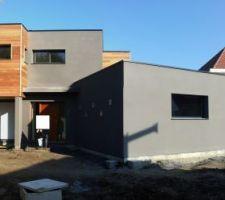 20121111 - Fin de l'enduit Ouest