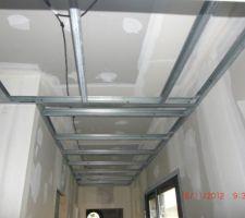 Gaine double plafond pour système RIBO