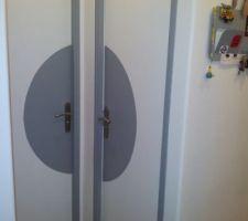 peinture des portes