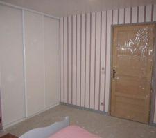 Chambre 1 étage terminée (sauf moquette)