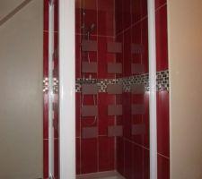 douche salle de bain etage