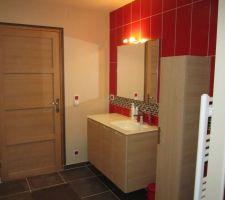 Salle de bain étage terminée