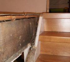 haut de l escalier