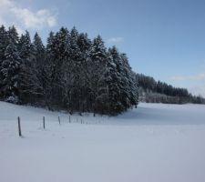 30 cm de neige debut decembre