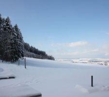 30cm de neige debut decembre