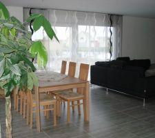 Après les nouveaux meubles, le nouveau canapé et les panneaux japonnais ont également fait leur apparition