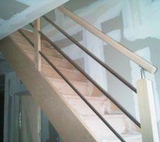 escalier vu de l entree